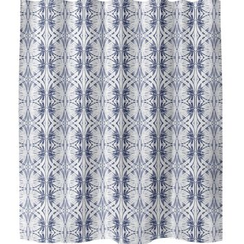 AUDRINA INDIGO Shower Curtain By Brandy Gibbs-Riley