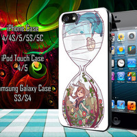 Disney Frozen Hourglass Sisters Samsung Galaxy S3/ S4 case, iPhone 4/4S / 5/ 5s/ 5c case, iPod Touch 4 / 5 case