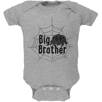 Big Brother Cute Spider Soft Baby One Piece