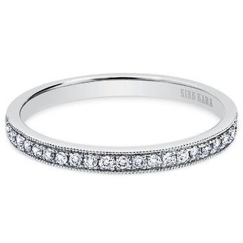 "Kirk Kara ""Angelique"" Diamond Wedding Band"