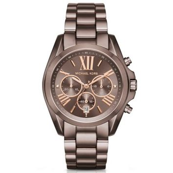 Oversized Bradshaw Sable-Tone Watch | Michael Kors