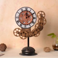 Home Decor Decoration Gifts Stylish Vintage Weathered Clock [6282980230]