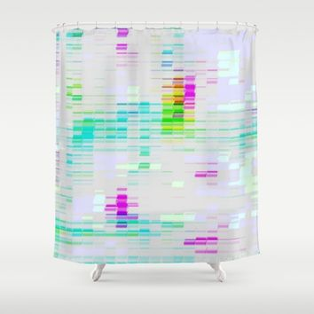 Contemporary Colors Shower Curtain by Lillianhibiscus | Society6