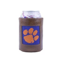 Clemson Needlepoint Can Holder by Smathers & Branson