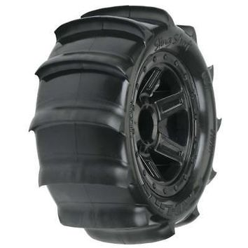 NEW Pro-Line Sling Shot 2.2  Sand Tires Mounted 1/16 E-Revo 10101-10Officially Licensed  AT_69_5