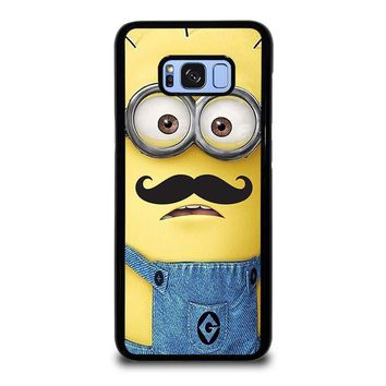 MINION WITH MOUSTACHE Samsung Galaxy S8 Plus Case Cover
