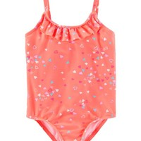 OshKosh Multi-Heart Swimsuit