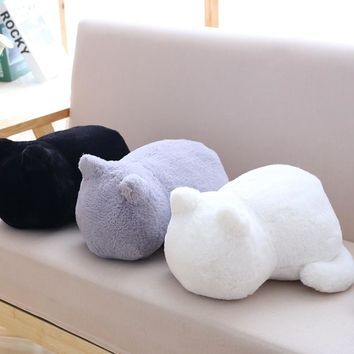 Cute Cat Pillow Soft Plushies In 3 Colors