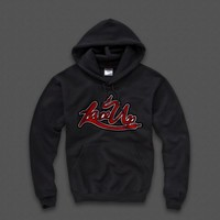 LACE UP MACHINE GUN KELLY MGK HOODIE - WEHUSTLE | MENSWEAR, WOMENSWEAR, HATS, MIXTAPES & MORE