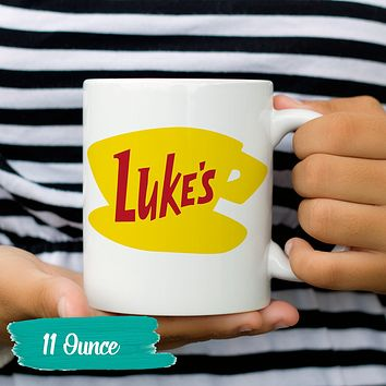 Luke's Diner Coffee Mug Lukes Diner Gilmore Girls Mugs