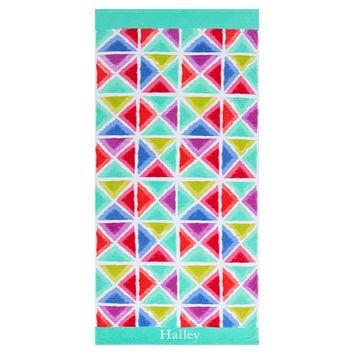 Kaleidoscope Pop Beach Towel