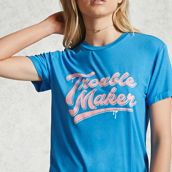 Trouble Maker Graphic Tee