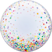 Colorful Confetti Dots Bubble Balloon