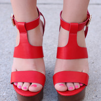 Keep It Simple Wedge - Cherry