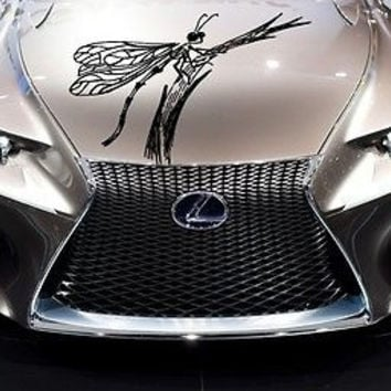 Car Hood Vinyl Decal Graphics Stickers Animal Predator Dragonfly (Ab1414)