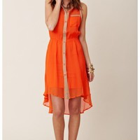 Sylk Jenna Hi Low Dress