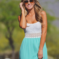 A Walk To Remember Dress - Mint