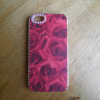 iPhone 5 Rose and Pearl Case