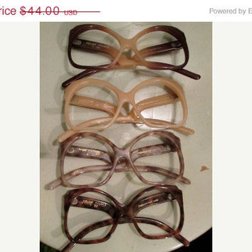 Shop Sale Vintage YSL Eyeglasses / 70s Yves Saint Laurent Frames / Deadstock