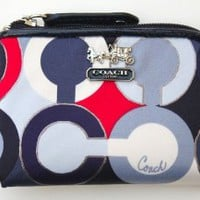 Coach Madison Graphic Oa Mini Coin Wallet 48478
