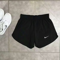 """Nike"" Fashion Print Exercise Fitness Gym Yoga Runnin Shorts"