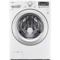 LG Electronics 4.3 cu. ft. High-Efficiency Front Load Washer in White, ENERGY STAR-WM3170CW - The Home Depot