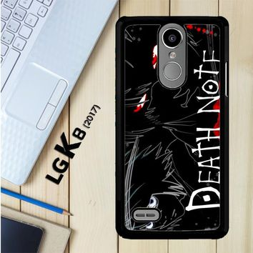 Death Note Anime Z0463 LG K8 2017 / LG Aristo / LG Risio 2 / LG Fortune / LG Phoenix 3 Case