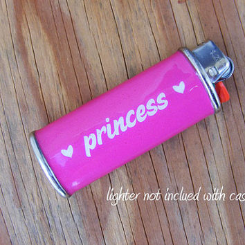 LIGHTER CASE Princess - Metal, Waterproof, Heavy duty
