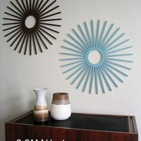 Mod Wall Art: Wallter Retro Starburst