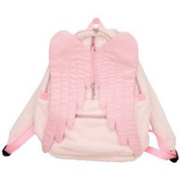 pink winged backpack