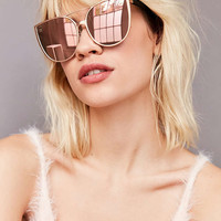 Quay Sorority Princess Cat-Eye Sunglasses - Urban Outfitters