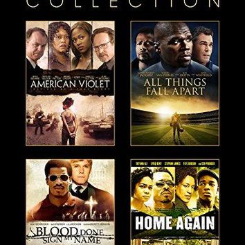 Curtis '50 Cent' Jackson & Jackson & Jeb Stuart & Sudz Sutherland -Urban Film Collection: American Violet, All Things Fall Apart, Home Again, Blood Done Sign My Name Quad