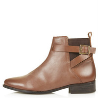 BLANCHE Ankle Boots - Tan
