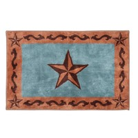 Western Classic Star Bath & Kitchen Rug - Home
