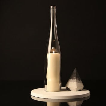 Candle Topper - Extra large wine bottle candle topper