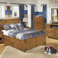 Burbank Twin Size Captains Bed