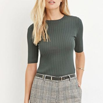Classic Ribbed Sweater