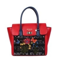 AMARO FLOWER EMBROIDERY HANDBAG - NEW ARRIVALS