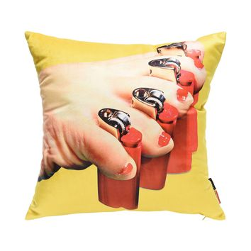 Seletti Wears Toiletpaper Lighters - Pillows - DESIGN+ART Seletti Wears Toiletpaper online on YOOX - 58041926DR