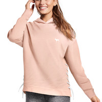 Side Lace-Up Pullover - PINK - Victoria's Secret