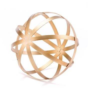 Gold Orb Figurine, Large