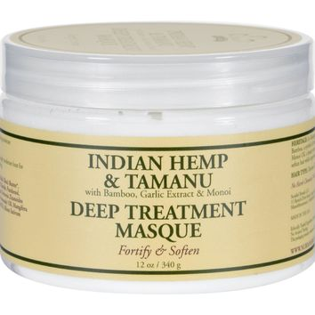 Nubian Heritage Hair Masque - Indian Hemp Tamanu - 12 oz