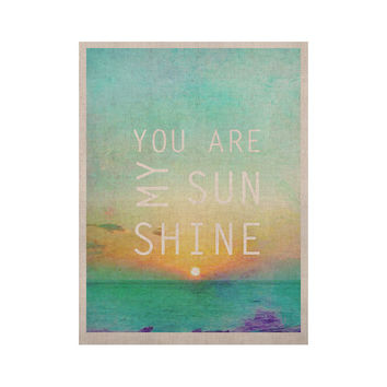 "Alison Coxon ""You Are My Sunshine"" KESS Naturals Canvas (Frame not Included)"