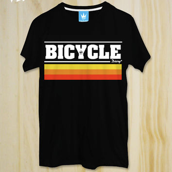 "New ""Bicycle Diary"" T-Shirt / Vintage style / Bicycle tshirt / Cycling Tshirt / Jersey / Men tshirt / Women Tshirt / Graphic tee Typography"