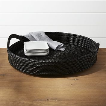 Artesia Black Tray