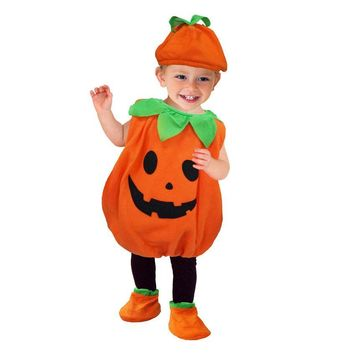 Cool Umorden Halloween Costumes Toddler Baby Pumpkin Costume Cosplay for Baby Girl Boy Fancy DressAT_93_12