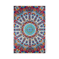 Sunburst - 3D - Glow in the Dark Tapestry on Sale for $32.95 at HippieShop.com