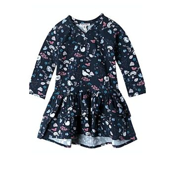 Organic cotton dress- Julia, baby girl 3mo to 24 mo