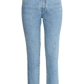 Vintage High Jeans - Light denim blue - Ladies | H&M GB