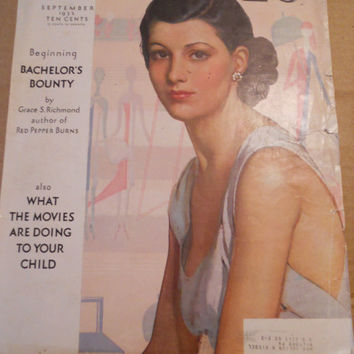 1932 McCall's Magazine Cover 11 x 17 by ZoeAmaris on Etsy